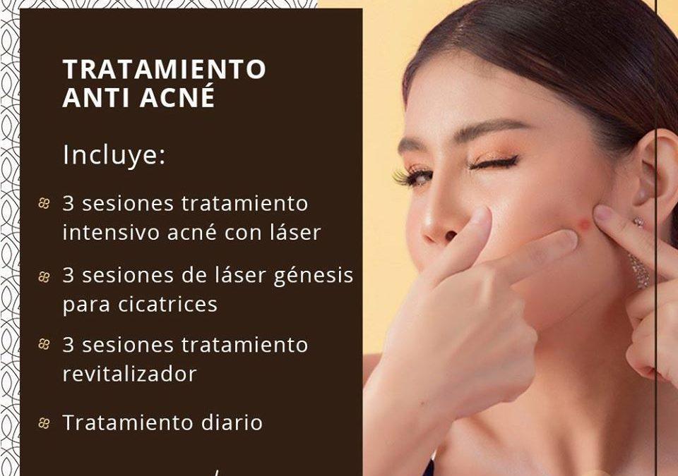 ¿Te has cansado de sufrir por el acné?, tratamiento intensivo con el Láser Génesis