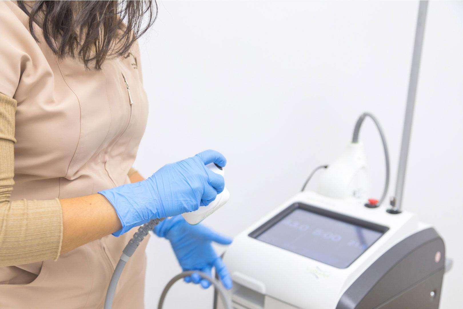 Clínicas Infinity en Andújar - Jaén - Tratamientos Vasculares - Láser Xeo